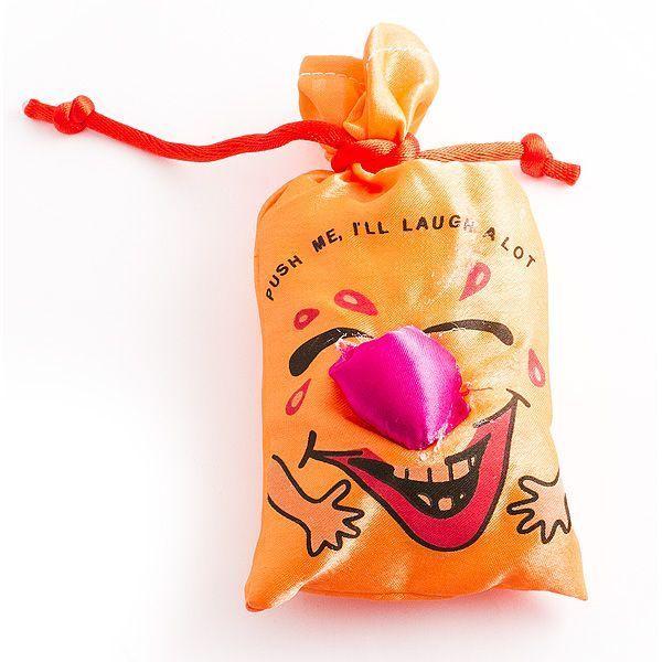 Мешок со смехом оранжевый