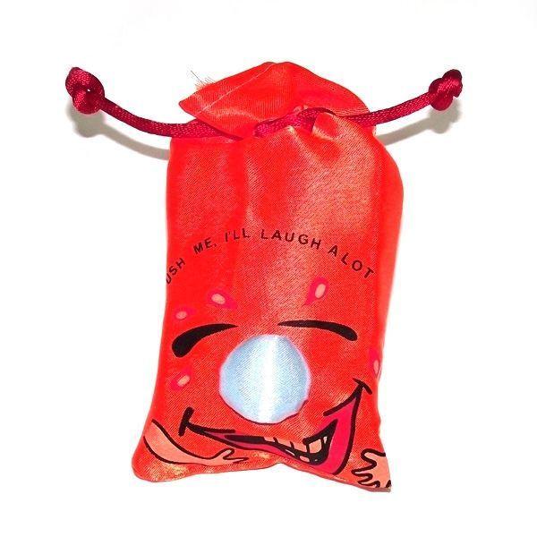 Мешок со смехом красный