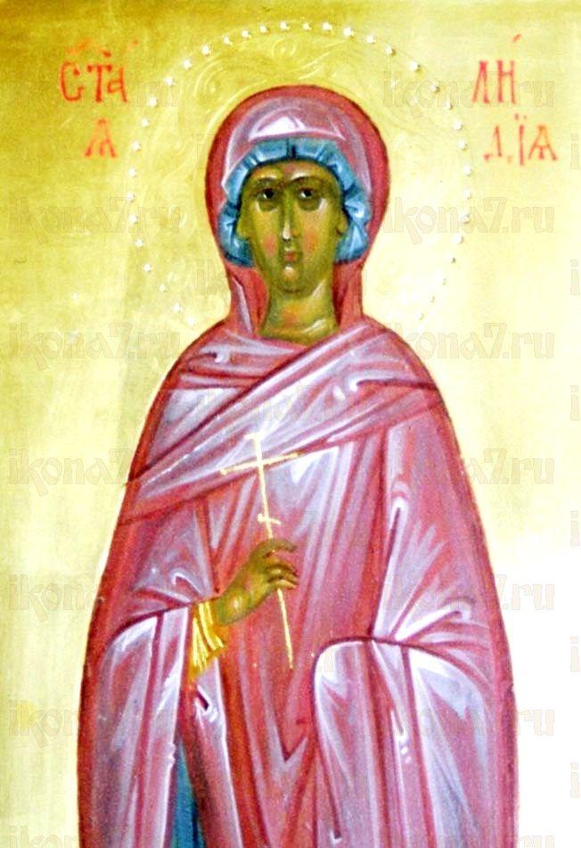 Икона Лидия Иллирийская (копия старинной)