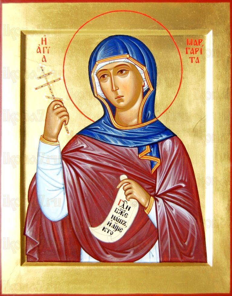 Икона Маргарита Антиохийская