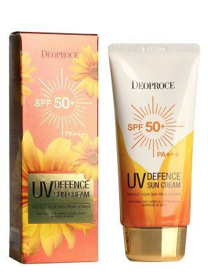 Крем солнцезащитный для лица и тела DEOPROCE UV DEFENCE SUN PROTECTOR SPF50+ PA+++ 70g