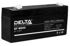 Аккумулятор Delta DT 6033 (125)