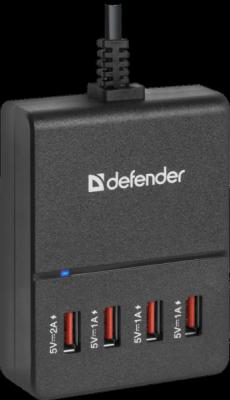 Сетевой адаптер UPA-40 4 порта USB, 5V / 5A