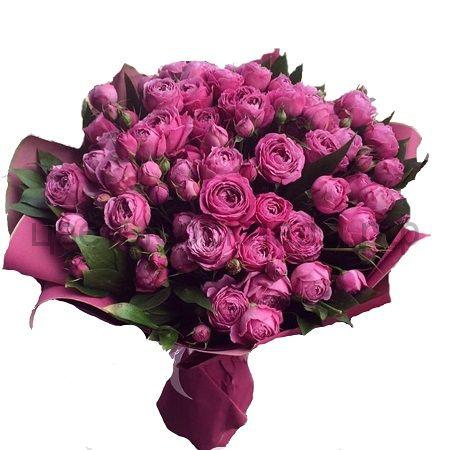Букет из кустовой розы Bombastik