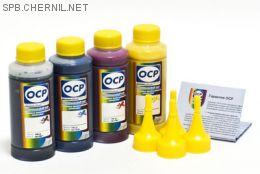 Комплект чернил OCP для HP #953 (BKP 249/СP/MP/YP 226), 100 gr x 4