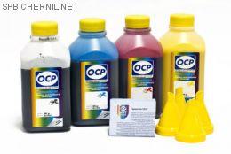 Комплект чернил OCP для HP #953 (BKP 249/СP/MP/YP 226), 500 gr x 4