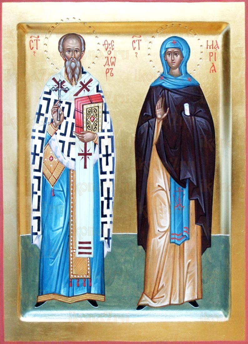 Икона Феодор и Мария Хиданская