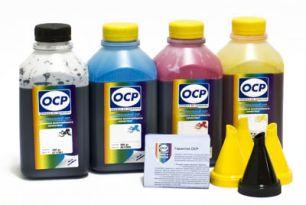 Комплект чернил OCP (BK 35, C/M/Y 126) для картриджей HP #940 Safe Set (Набор для печати с большими перерывами в работе. Не требовательный к условиям хранения используемого принтера), 500 gr x 4