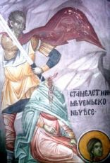 Икона Мелитина Маркианопольская (копия старинной)