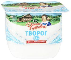 ...Творог Домик в деревне 0,1% 170 гр