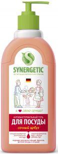 """""""Synergetic"""" Средство биоразлагаемое для мытья посуды, детских игрушек с ароматом арбуза, 0,5л"""