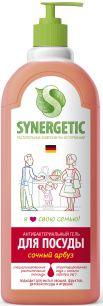"""""""Synergetic"""" Средство биоразлагаемое для мытья посуды, детских игрушек с ароматом арбуза, 1л"""
