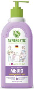 """""""Synergetic"""" Мыло жидкое биоразлагаемое для мытья рук и тела """"Лаванда""""0.5л"""