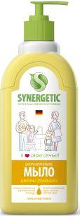 """""""Synergetic"""" Мыло жидкое биоразлагаемое для мытья рук и тела """"Полевые цветы""""  0.5л"""