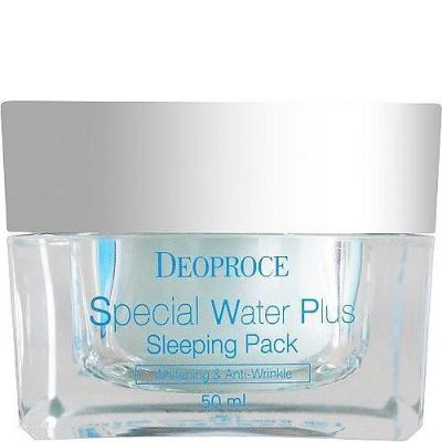 DEOPROCE WATER PLUS Маска ночная увлажняющая DEOPROCE SPECIAL WATER PLUS SLEEPING PACK 50ml