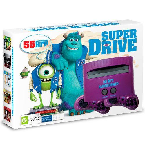 Sega Super Drive Monster Inc (55-in-1)
