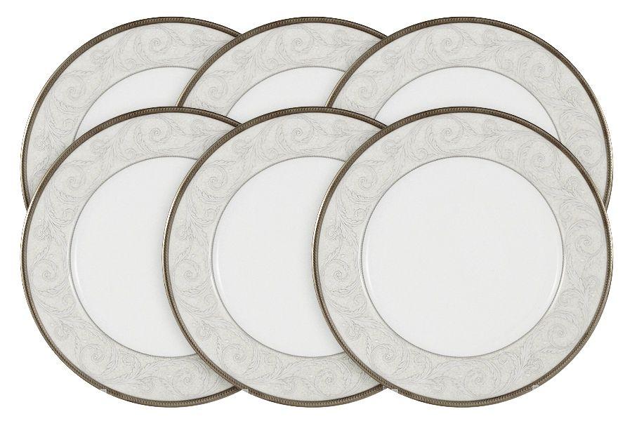 "Набор из 6 тарелок ""Ноктюрн"", 23 см"