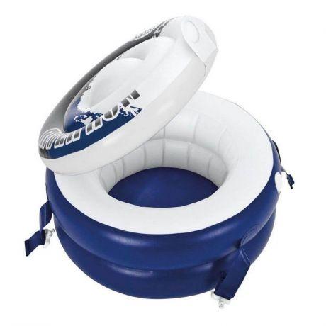 Плавающий термо-резервуар для напитков Intex 56823, 57 см, холодильник на воде
