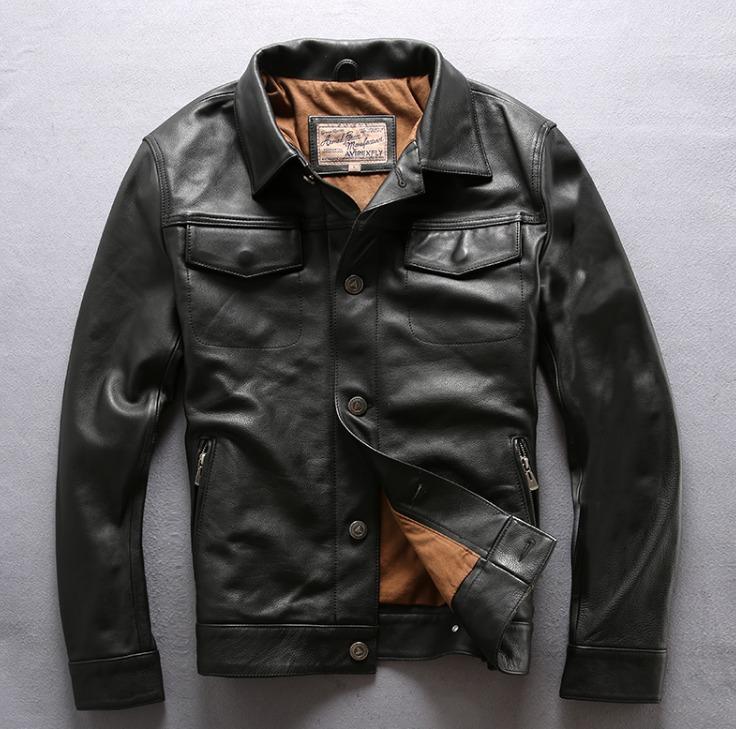 Куртка классическая AVIREXFLY кожа 1213