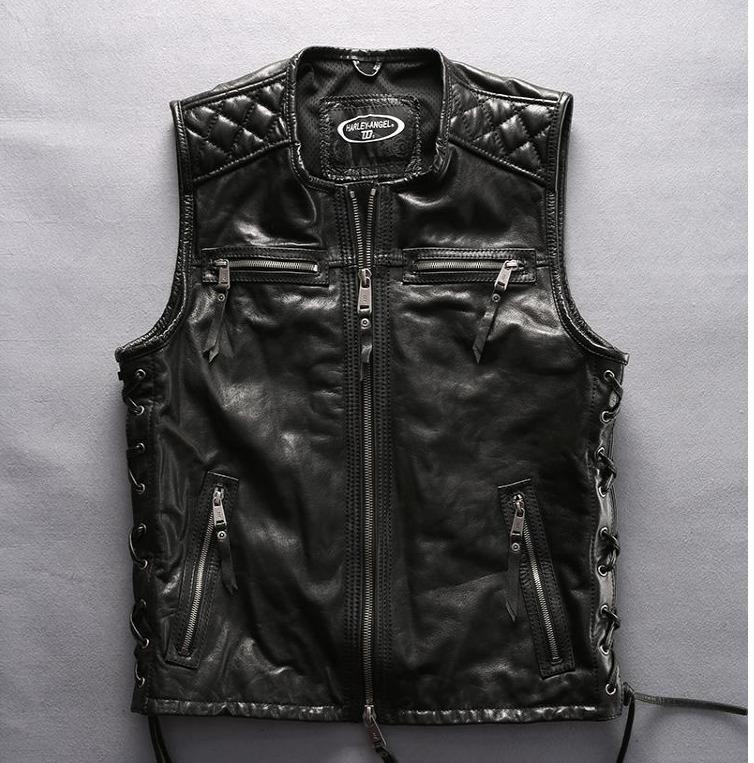 Мотожилет кожаный Harley Davidson - Harley Angel ha-83
