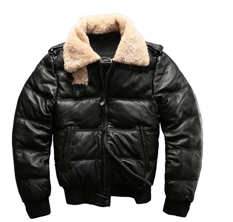 Куртка теплая Harley Davidson кожаная Harley Angel HA-805