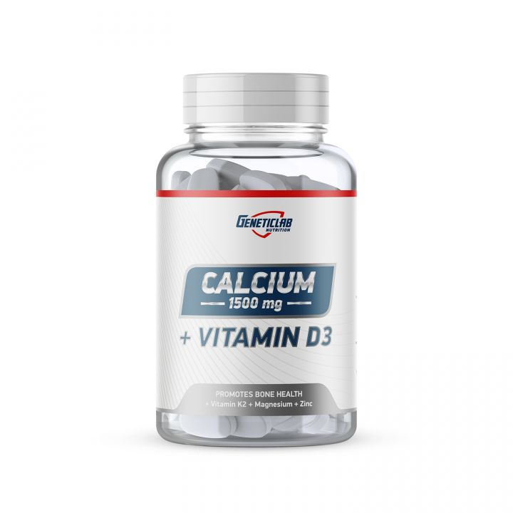 GENETIC LAB - CALCIUM + vitamine D3
