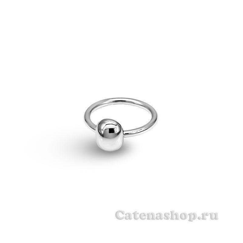"""Кольцо  серебряное """"Овал"""""""