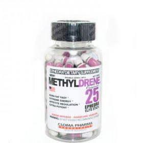 Methyldrene Elite 25 mg EPH + герань (Cloma Pharma) 100 капс.