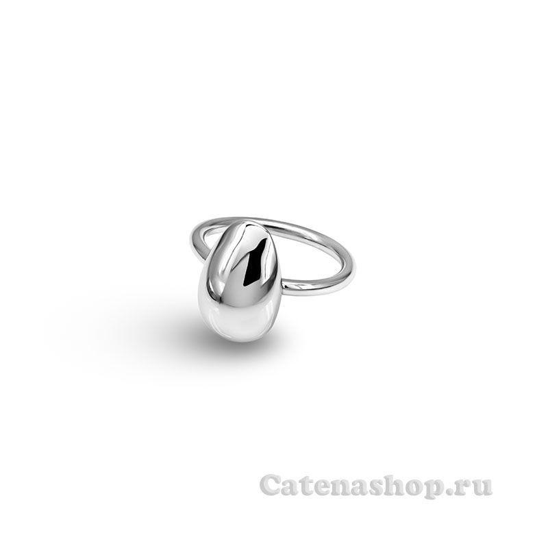 """Кольцо серебряные """"Овал"""""""