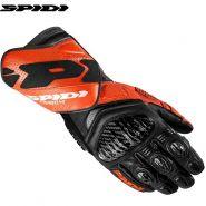 Мотоперчатки Spidi Carbo 4, Чернo-оранжевые