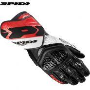 Мотоперчатки Spidi Carbo 4, Чернo-красно-белые