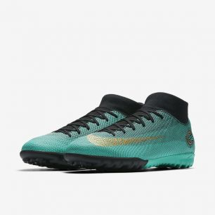 Сороконожки NIKE MERCURIALX SUPERFLY VI ACADEMY CR7 TF AJ3568-390 SR