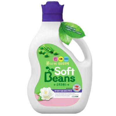 619451 Кондиционер для белья Soft Beans на основе экстракта зеленого гороха, мягкая упаковка, 2 л