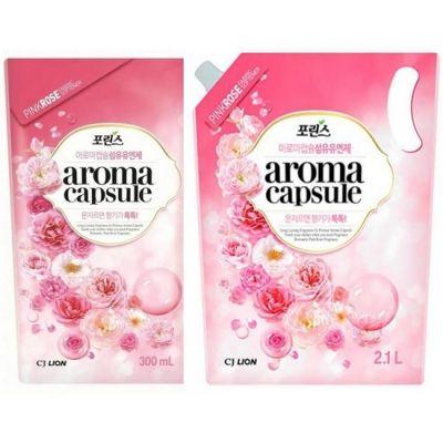 Кондиционер для белья Розовая роза CJ Lion 2100мл, мягкая упаковка