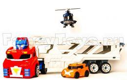 Большой набор из 3-х тоботов (мега Tobot трансформер, тобот mini H и X)