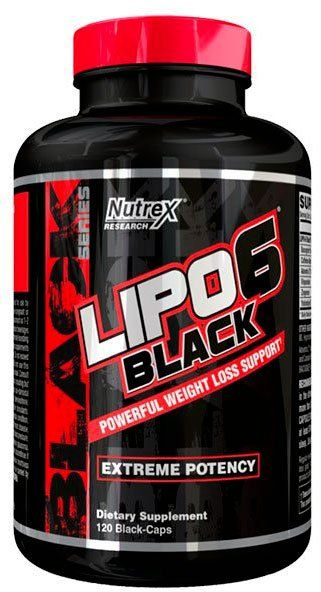 NUTREX Lipo 6 Black 120капс. скл2 1-2дня