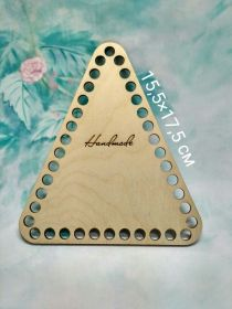Дно для корзины Треугольник 17,5*15,5 см фанера 3 мм