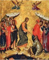 Икона Воскресение Христово (15 век)