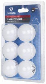 Мячи для настольного тенниса Torneo 1-Star, 6 шт TBWPL200