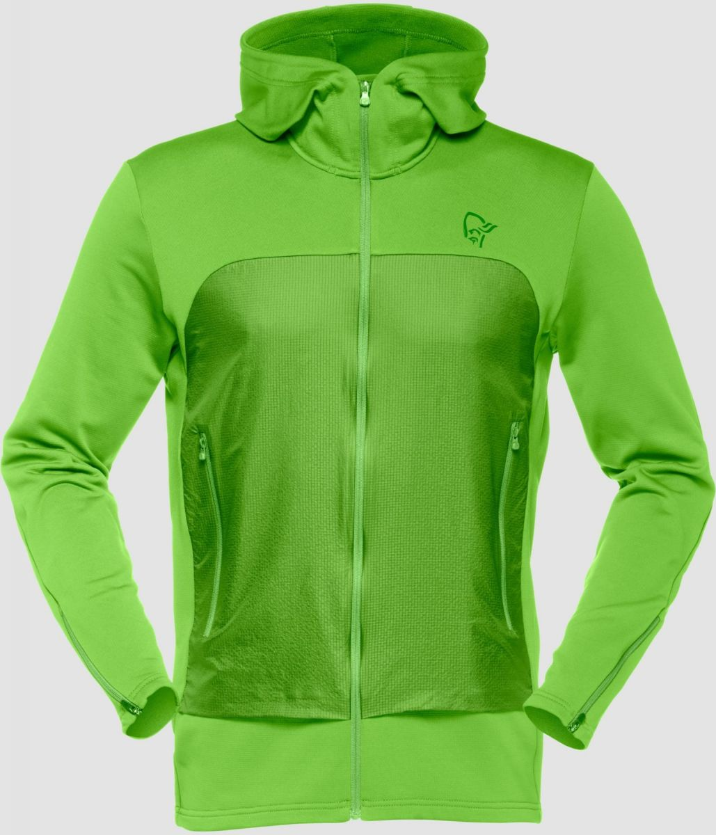 Norrona /29 warm2 stretch Zip Hoodie (M) green
