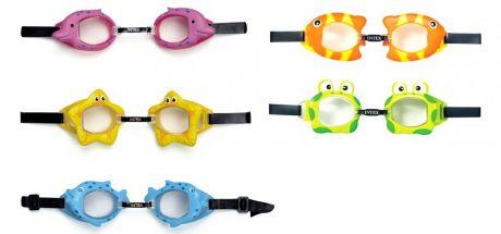 Детские очки для плавания Intex 55603 «Звездочка», от 3 лет