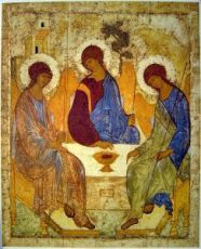 Троица (копия иконы Рублева)