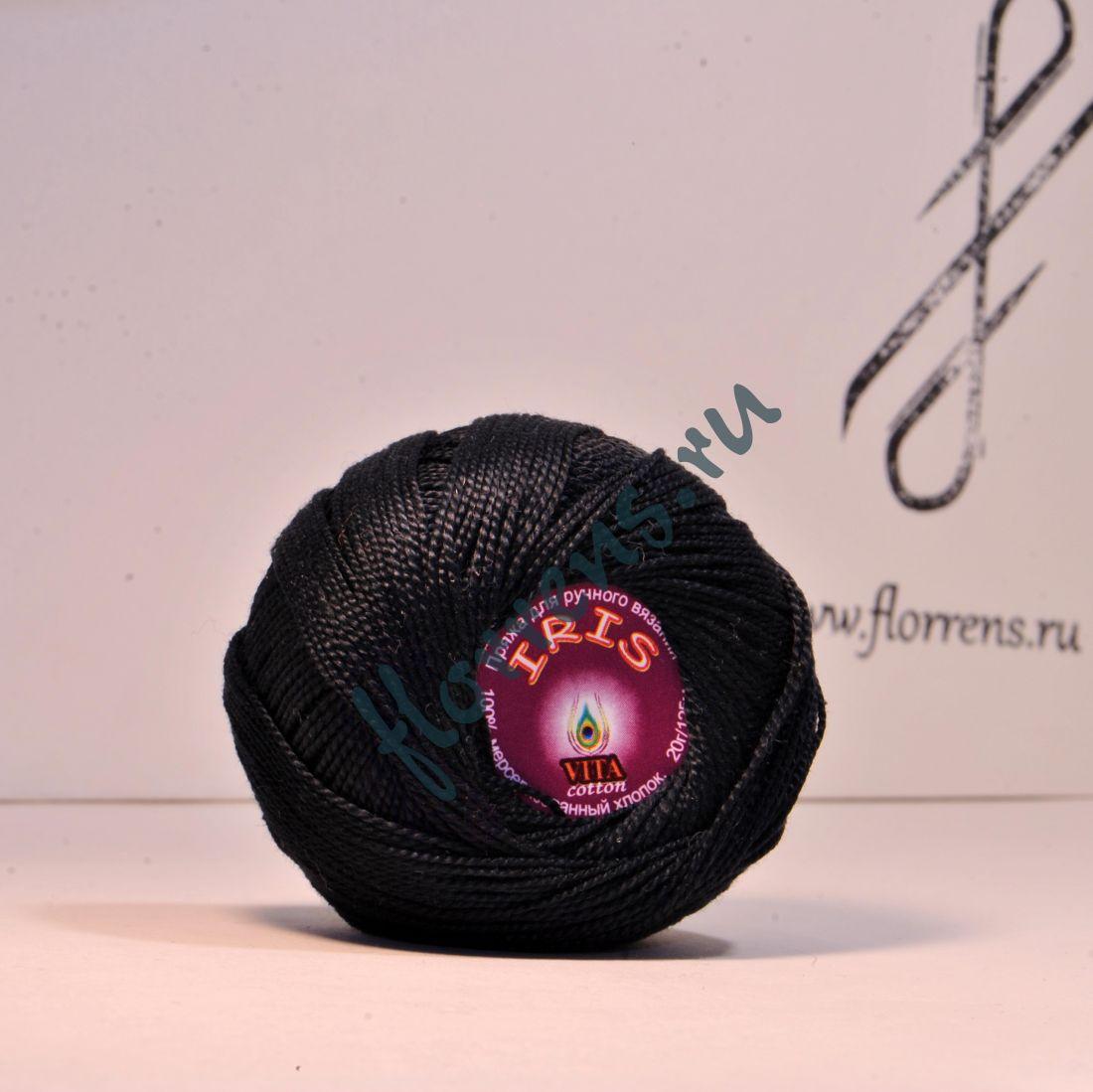 Пряжа Iris / 2102 черный