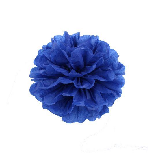 Помпон синий 15-20 см