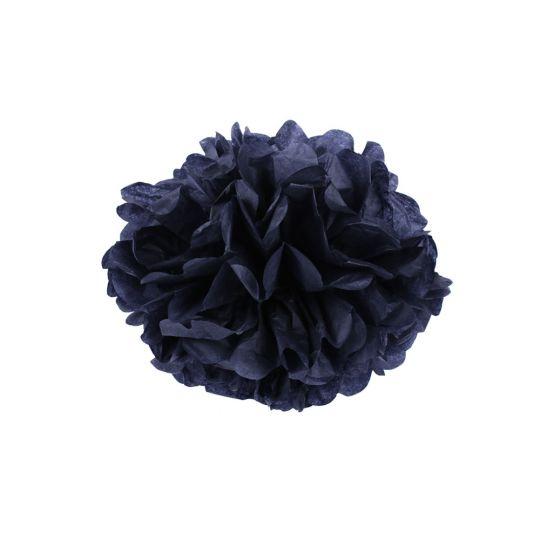 Помпон черный 30-35 см