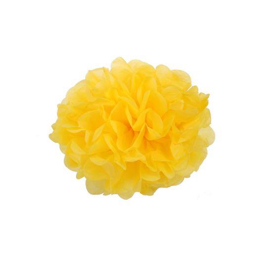 Помпон желтый 45-50 см