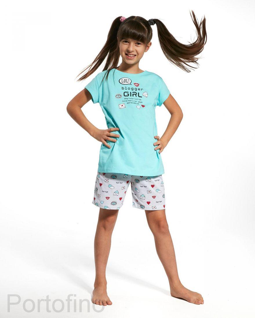 788-56 Пижама для девочек Cornette