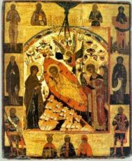 Недреманное Око (копия старинной иконы)