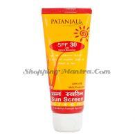 Солнцезащитный крем SPF30 Патанджали Аюрведа   Divya Patanjali Sun Screen SPF 30