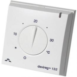 Терморегулятор для теплого пола Devi D-132 с датчиком пола и воздуха